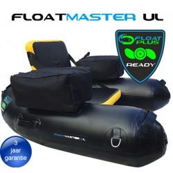Floatmaster XL AIR black/yellow | PVC float tube