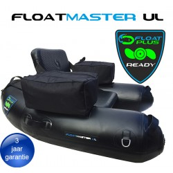 Floatmaster XL RACE black/yellow| PVC float tube